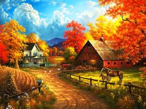 Colorfu Houses Painting pin paintings nature animals digital tigers photography
