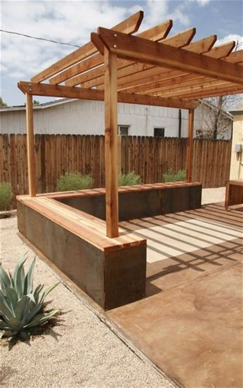 pergola bench pergola bench my dream backyard pinterest gardens
