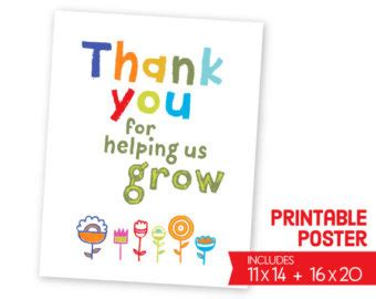 printable thank you cards teacher teacher thank you printable card bundle instant download
