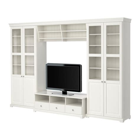 ikea tv unit liatorp tv storage combination 130 3 4x84 1 4 quot ikea