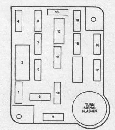 ford bronco   fuse box diagram auto genius
