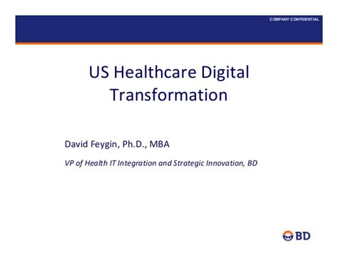 Digital Health Mba by Mhealth Israel Becton Dickinson Us Healthcare Digital