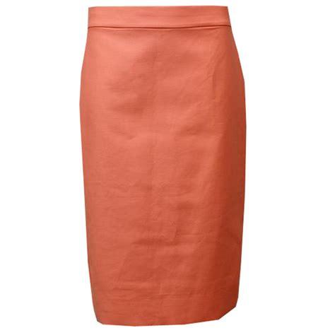 cotton melon pencil skirt elizabeth s custom skirts