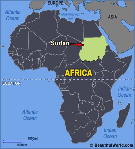 map of sudan map of sudan facts information beautiful world travel guide