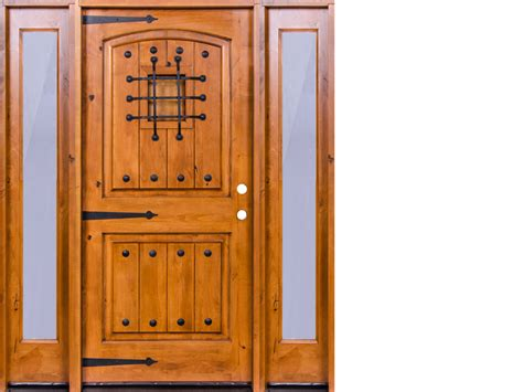 krosscore cherry two panel top rail arch interior door at home depot inside doors house knotty alder doors 13 knotty alder raised panel king