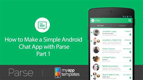 how to make a android app simple android chat app ep 1 demo of the simple chat app with parse intergration