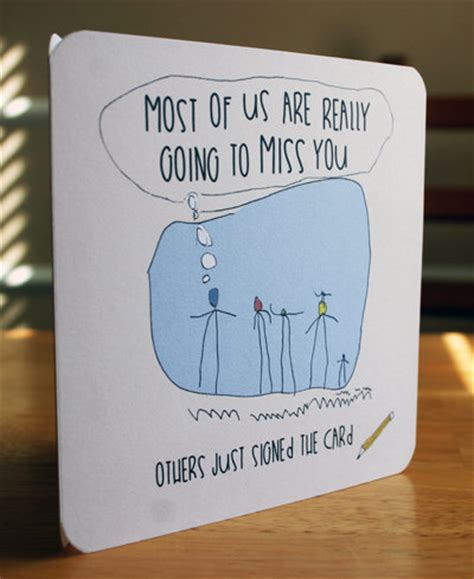 Printable Funny Goodbye Card Virtualpaper Pinterest Printable Farewell Card