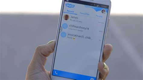 microsoft starts displaying ads in skype 4 3 for android inferse - Skype For Android Phone