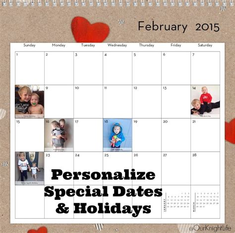 Personalized Calendars Personalized Family Wall Calendar From Shutterfly