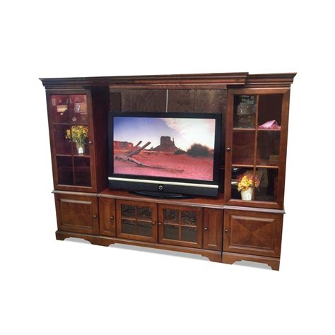 oak furniture west  piece entertainment wall rc willey furniture store