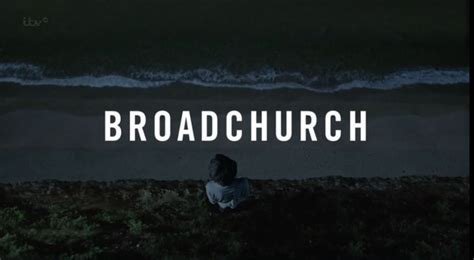 television broadchurch omphaloskepsis