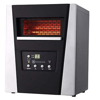 space heater  large rooms reviewed rated compared