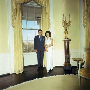 Yellow Oval Office by File Kennedys In The Yellow Oval Room 3 28 63 Jpg