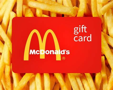 Cost Of Gift Cards - 17 best ideas about mcdonalds gift card on pinterest auction baskets gas gift cards