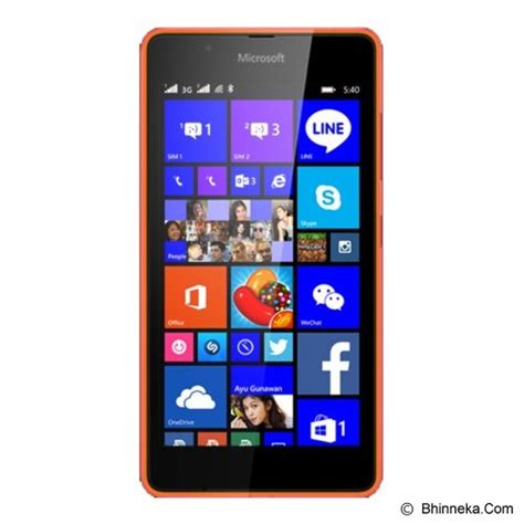 Jual Microsoft Lumia 540 Jual Smartphone Microsoft Lumia 540 Orange Merchant Smart Phone Windows Phone Microsoft