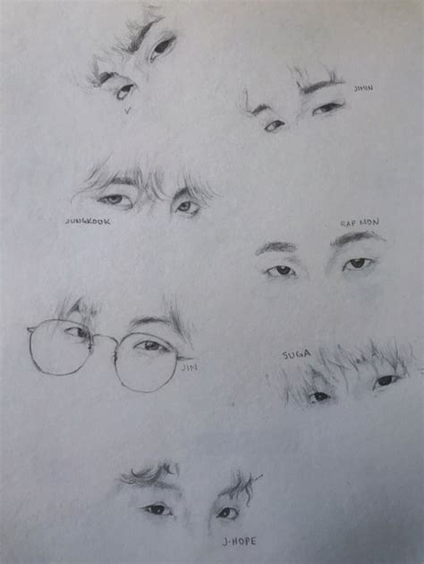 Pensil Bts bts pencil