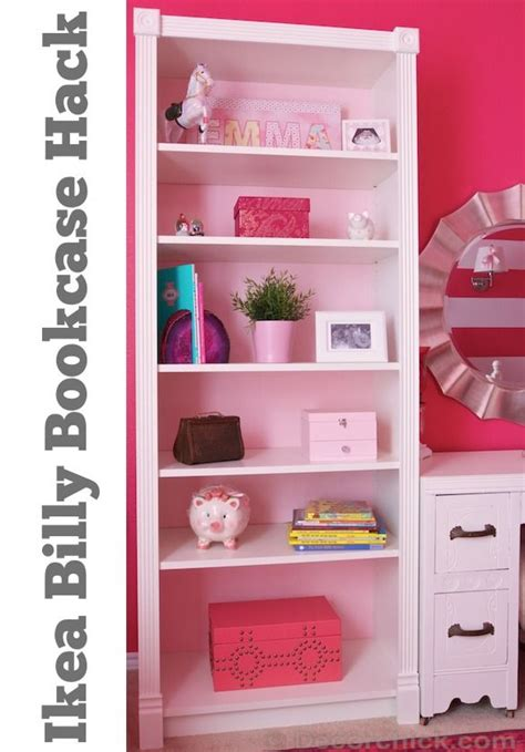 this ikea billy bookcase hack www decorchick