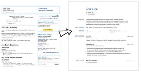 linkedin resume template linkedin resume template zombotron2 info