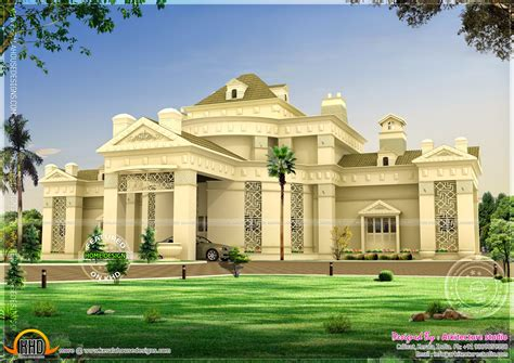 unique luxury home plans april 2014 kerala home design and floor plans