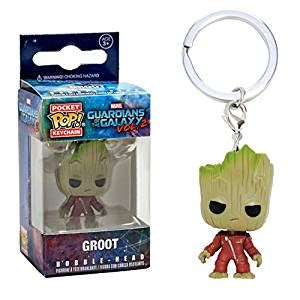 Funko Pocket Pop Keychain Marvel Guardians Of The Galaxy Groot funko pocket pop keychain guardians of the