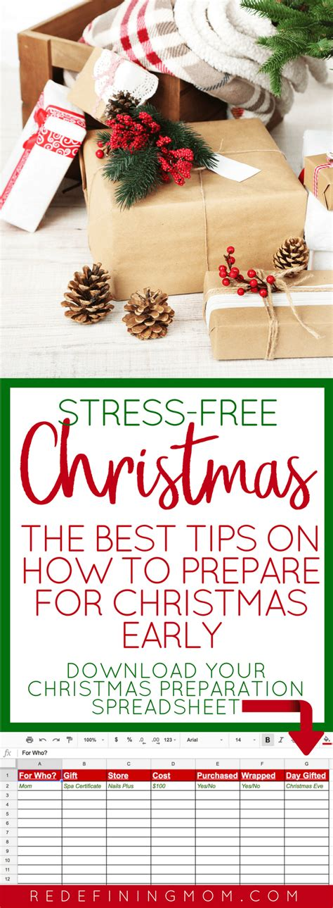 christmas for preparation how to get ready for early redefining