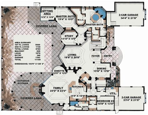 2 story villa floor plans plan 66070we stunning two story luxury home plan