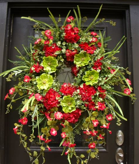 large wreaths for front door large wreath wreath front
