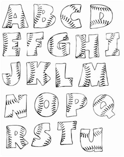 Card Stitch All Cursive Letters Template by Printable Baseball Alphabet Letters Woo Jr Activities