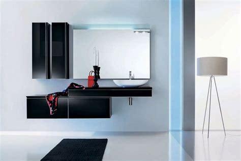 black bathroom furniture modern black glass bathroom furniture by stemik living