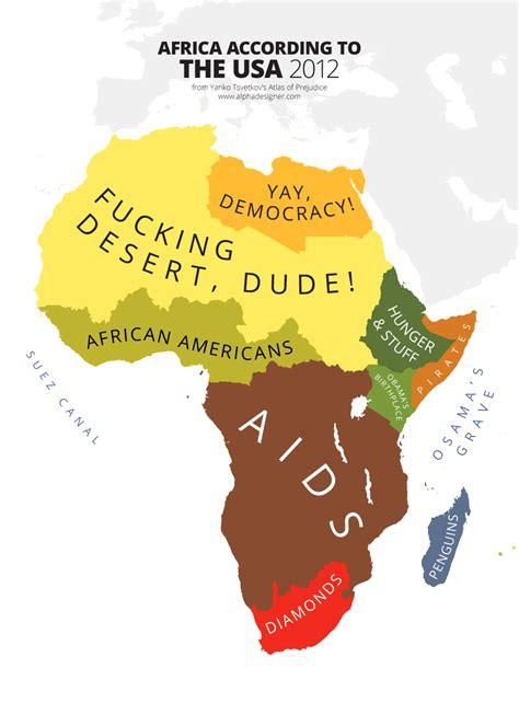 africa map vs usa africa according to usa print alphadesigner store