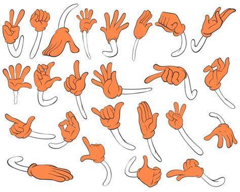 vector conjunto de mano de panader 237 a vintage letras conjunto de manos naranjas descargar vectores gratis