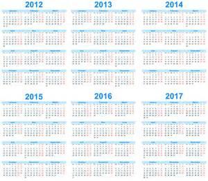 5 year calendar template 2013 2018日历素材矢量图片 图片id 251282 日历台历 广告设计 矢量素材 淘图网 taopic