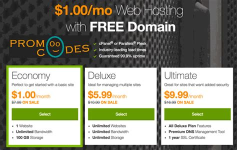 web hosting godaddy  dollar web hosting