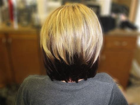 blond bob with dark underneath 17 best images about two tone hair on pinterest bobs