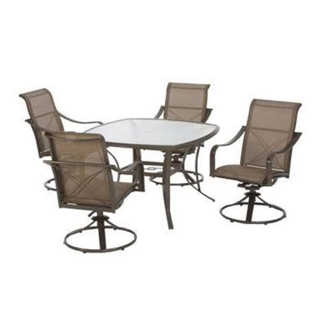 Martha Stewart Living Grand Bank 5 Piece Patio Dining Set Martha Stewart Patio Dining Set