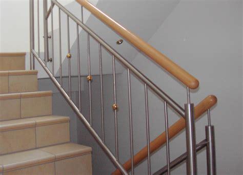 edelstahlgeländer treppenhaus treppengel 228 nder f 252 r innen au 223 en