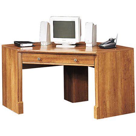 sauder corner computer desk sauder corner computer desk american cherry walmart