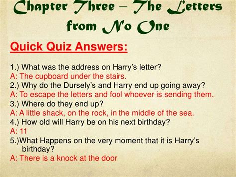 harry potter book 1 quizzes and do now tasks