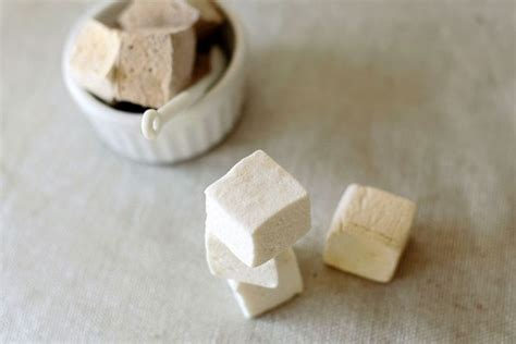 Handcrafted Marshmallows - handmade cardamom marshmallows 1 dozen gourmet by