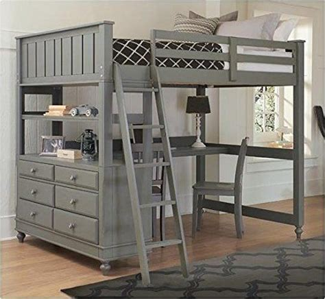 Bunk Bed With Desk And Dresser by Best 25 Bed With Desk Underneath Ideas On