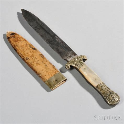 knife scabbard realized price for small sheffield knife and scabbard