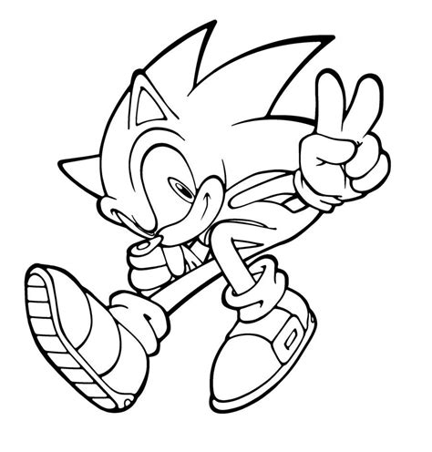 sonic coloring pages games sonic 13 video games printable coloring pages