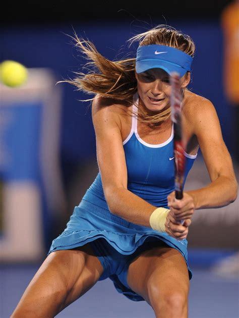 Sexy female athletes camel toe