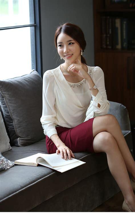 Atasan Tangan Panjang Bahan Korea atasan wanita korea cantik lengan panjang model terbaru