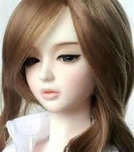 latest pretty cute doll fb profile picture funda