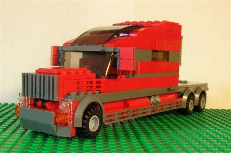 Extended Sleeper Trucks by Lego Ideas Extended Sleeper Cab Semi Truck