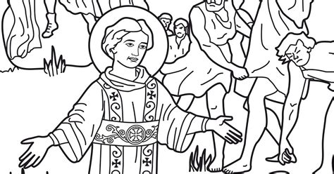 coloring pages bible stephen the stoning of st stephen coloring pages