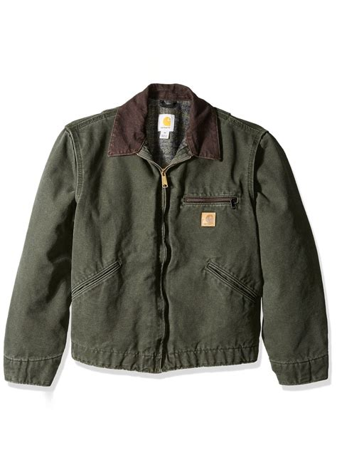 Carhartt Sandstone Detroit Jacket Blanket Lined by Carhartt Carhartt S Big Blanket Lined Sandstone