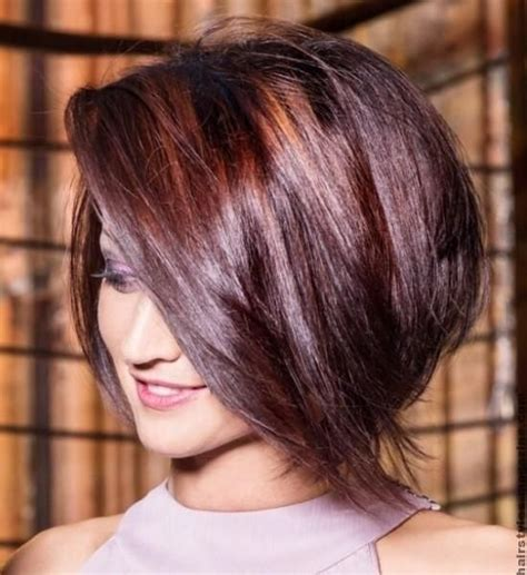 stacked bob haircut pictures with bangs 20 pretty bob hairstyles for short hair long side bangs