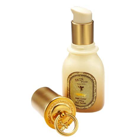 Serum Gold Korea skinfood gold caviar lifting eye serum skin food eyecare